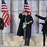 Barack Obama Concert at Lincoln Memorial