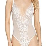 Natori Floral Lace Bodysuit