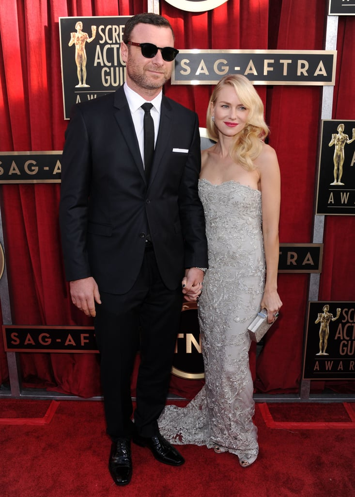 Naomi Watts wore Marchesa on tonight's SAG Awards red carpet in LA. She is up against Jessica Chastain, Marion Cotillard, Jennifer Lawrence, and Helen Mirren for outstanding performance by a female actor in a leading role for her work in The Impossible. Although she has been busy making the rounds at award shows, she recently made time for a trip to Park City, UT. Naomi debuted her new film Two Mothers with costars Xavier Samuel and James Frecheville at the Sundance Film Festival last week. The award-season excitement is far from over for Naomi, who heads to the Oscars — where she is nominated for best actress as well — next month.