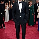 Eddie Redmayne looked dapper in his tux at the Oscars.