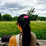 The Bouquet Ponytail