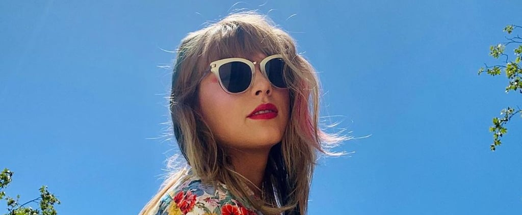 Taylor Swift Dyed Her Hair Pink and Blue at Home