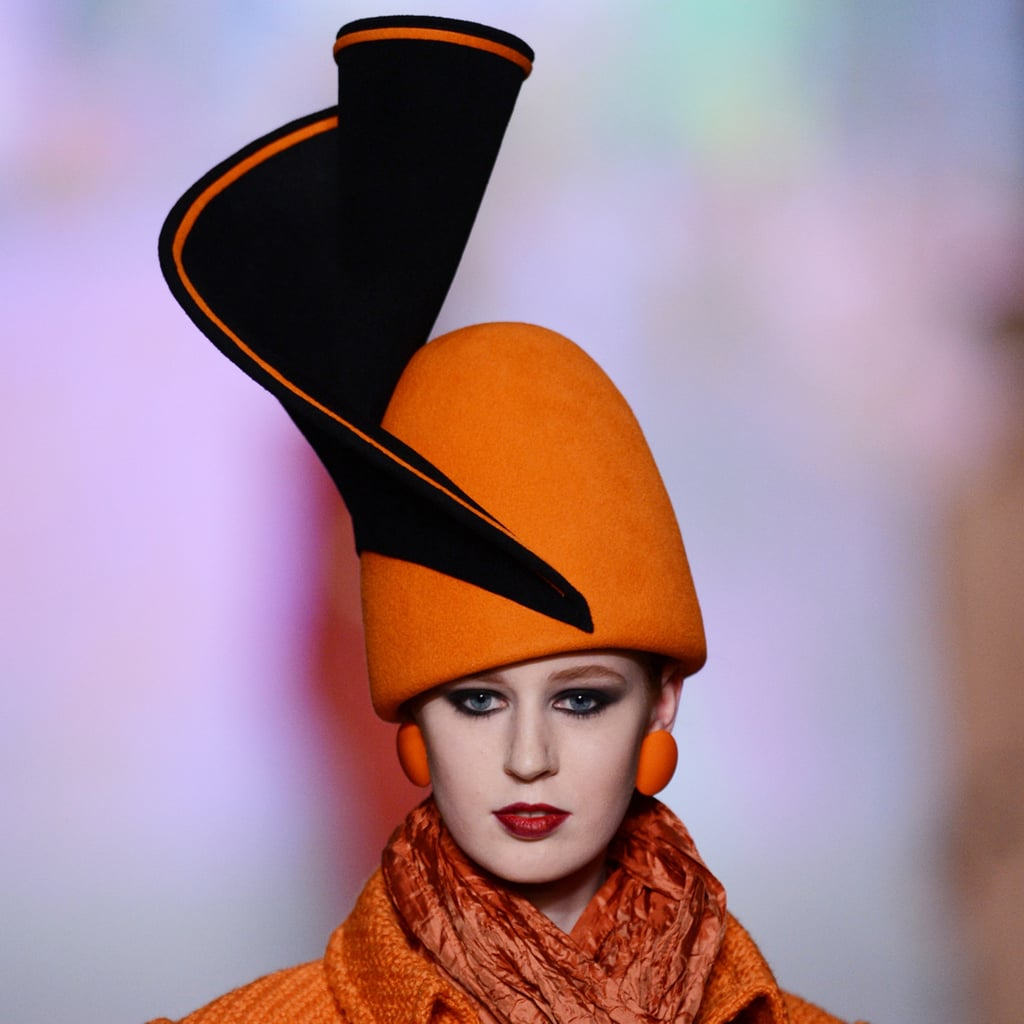 Hats Off: All the Coolest, Quirkiest Toppers From Russia Fashion Week
