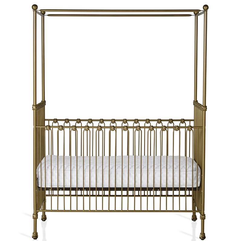 Staright Canopy Convertible Crib ($1550)  sc 1 st  Popsugar & Staright Canopy Convertible Crib ($1550) | Celebrity Nursery ...