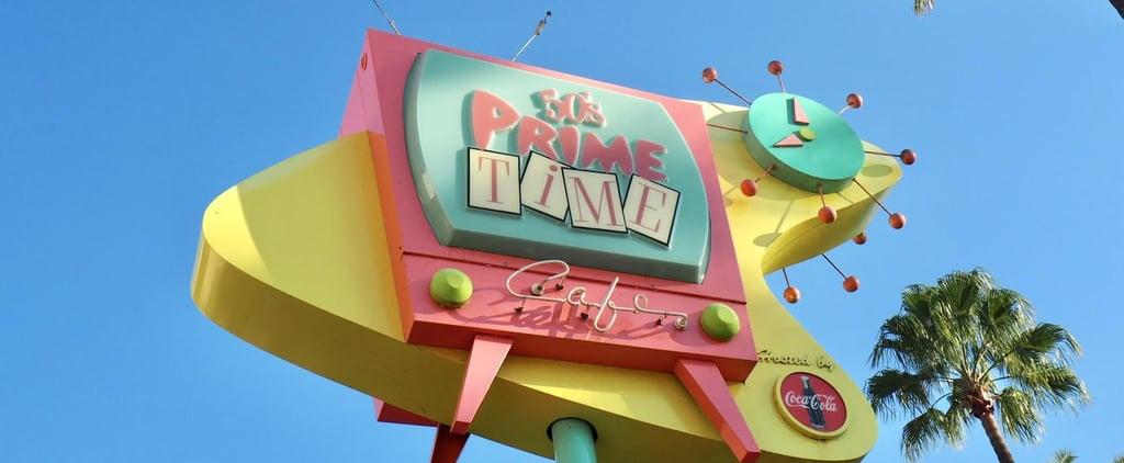 What Is Disney's 50's Prime Time Café?