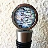 Orlando Map Wine Stopper