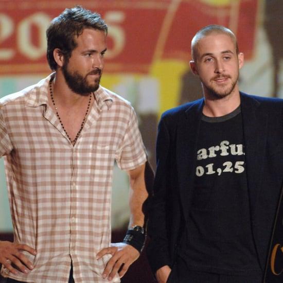 Ryan Gosling and Ryan Reynolds at Teen Choice Awards 2005