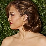 Jennifer Lopez's Side-Swept Waves
