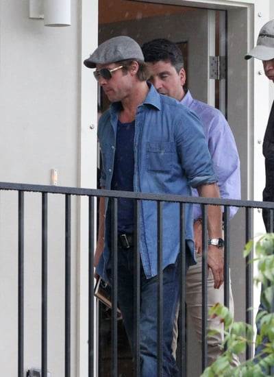 Pictures of Brad Pitt Visiting His Housing Project in the Ninth Ward of New Orleans