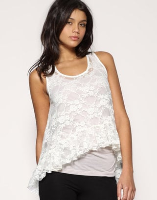 2010 Spring Trend Alert: Light Colored Lace Tops