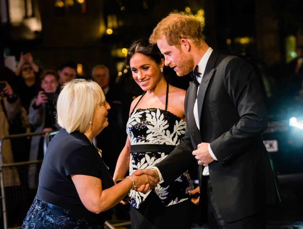 Prince Harry and Meghan Markle at Royal Variety Performance