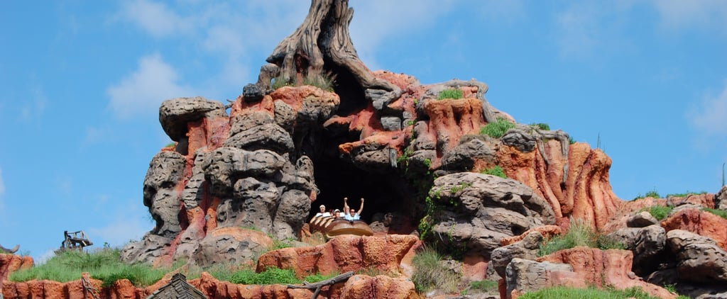 Moana Mountain Ride at Disney World
