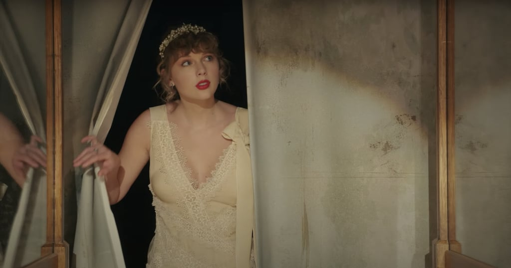 """Taylor Swift shocked all of us when she announced on Dec. 10 that she would be releasing new album Evermore alongside a music video for the first track, """"Willow,"""" the following day. While the drop may have been unexpected, it came as no surprise that the singer debuted a mystical masterpiece, featuring enchanting Folklore-esque looks. While it's no doubt the singer's gorgeous ivory lace dress and floral crown that stole the show, every single outfit Taylor chose reflected the fantastical, romantic vibes of """"Willow."""" From flowy dresses to all the florals and lace, the Evermore artist's latest video is filled with her signature Cottagecore aesthetic. Watch the full production ahead and get a closer look at her beautiful dresses from all the angles.      Related:                                                                                                           It's No Big Surprise Gwen Stefani Looks Damn Good in Her """"Just a Girl"""" Outfit 25 Years Later"""
