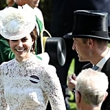 Prince William and Kate Middleton at Royal Ascot June 2017