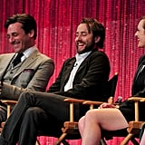 Jon Hamm and the Mad Men Cast Get the Giggles at PaleyFest