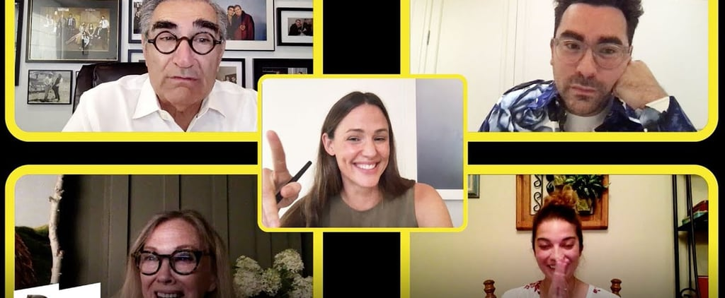Jennifer Garner Interviews the Schitt's Creek Cast | Video