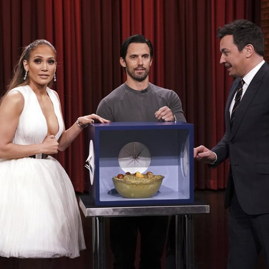 Jennifer Lopez and Milo Ventimiglia on The Tonight Show 2018