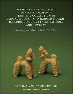Book Club: Important Artifacts and Personal Property from the Collection of Lenore Doolan and Harold Morris