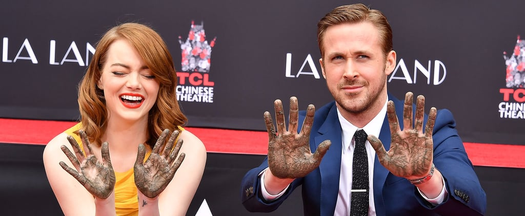 Ryan Gosling Jokes About Getting Arrested During His Hand and Footprint Ceremony With Emma Stone