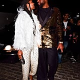 Dwyane Wade and Gabrielle Union at His Retirement Dinner