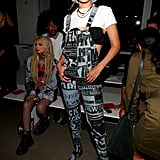 Gigi Hadid at the Jeremy Scott Show