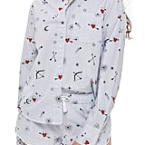 Topshop Pajama Shirt