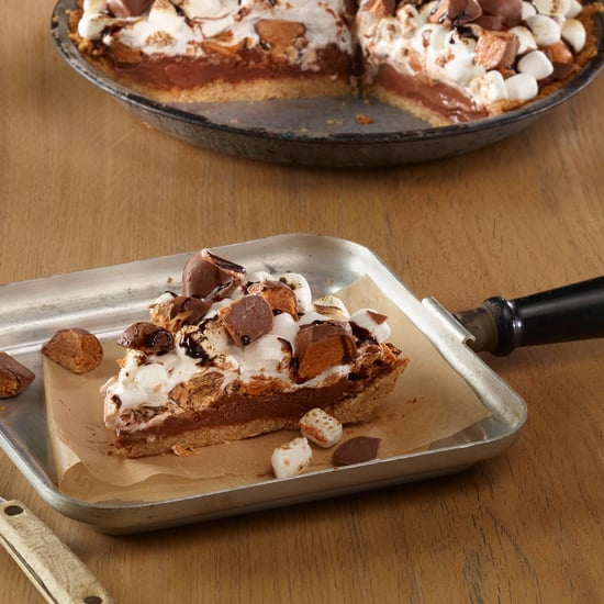 Easy Butterfinger S'mores Pie Recipe