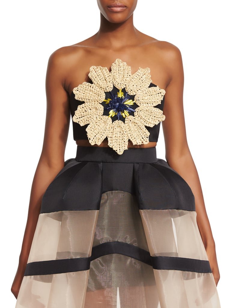 Delpozo's Flower Bralette ($1,500) is a treasured item to add to any wardrobe.