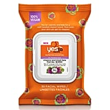 Yes To Carrots Vitamin-Enriched Kale Facial Wipes