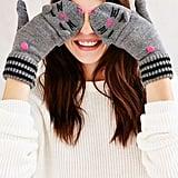 Kitsch Animal Convertible Gloves ($22)