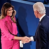 Melania Trump Sparked Controversy in Her Pussy-Bow Blouse