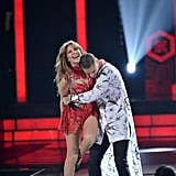 "When Thalia and Maluma Performed Their Sexy Single ""Desde Esa Noche"""