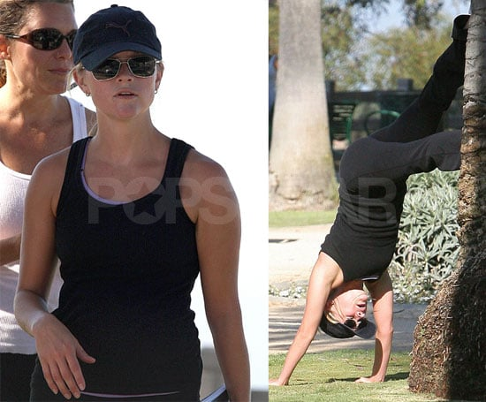 Reese Gets a Full Body Workout, So Can You!