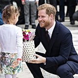 Prince Harry at Lord Mayor's Big Curry Lunch April 2019