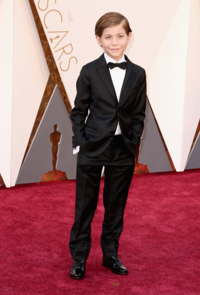 Jacob Tremblay at the Oscars 2016