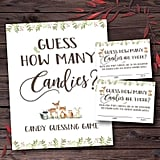 Guess How Many Candies Are in the Jar Baby Shower Printable Game