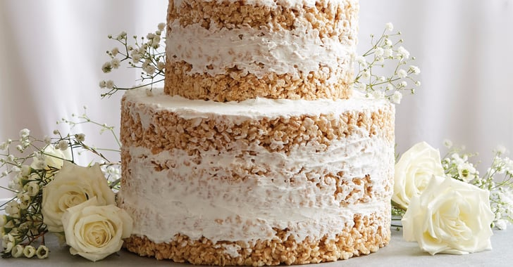 rice krispie wedding cakes no bake rice krispies wedding cake recipe popsugar food 19223