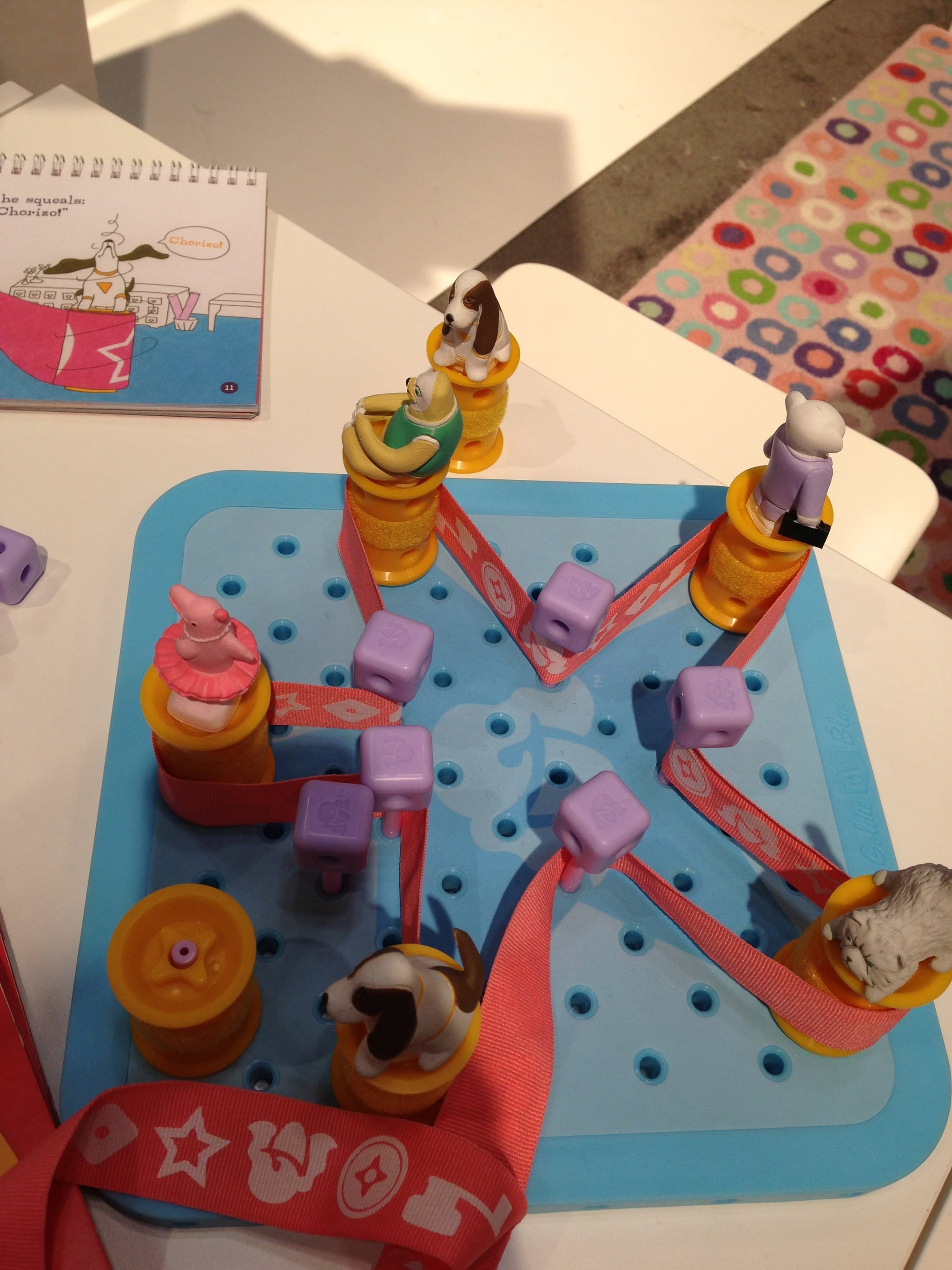 Developed by a Stanford-educated female engineer, Goldie Blox is an imaginative new way to get little girls into the mechanics of engineering.