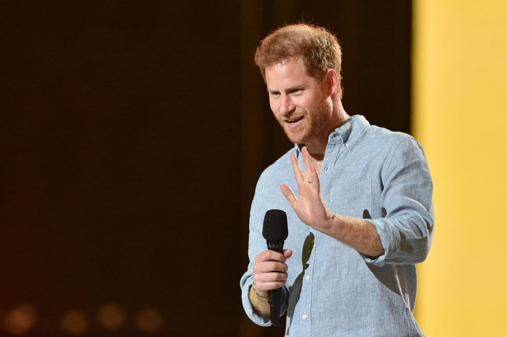 Read Prince Harry's Speech at Vax Live Concert