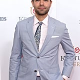 Adrian Grenier looked dapper at the races in 2016.