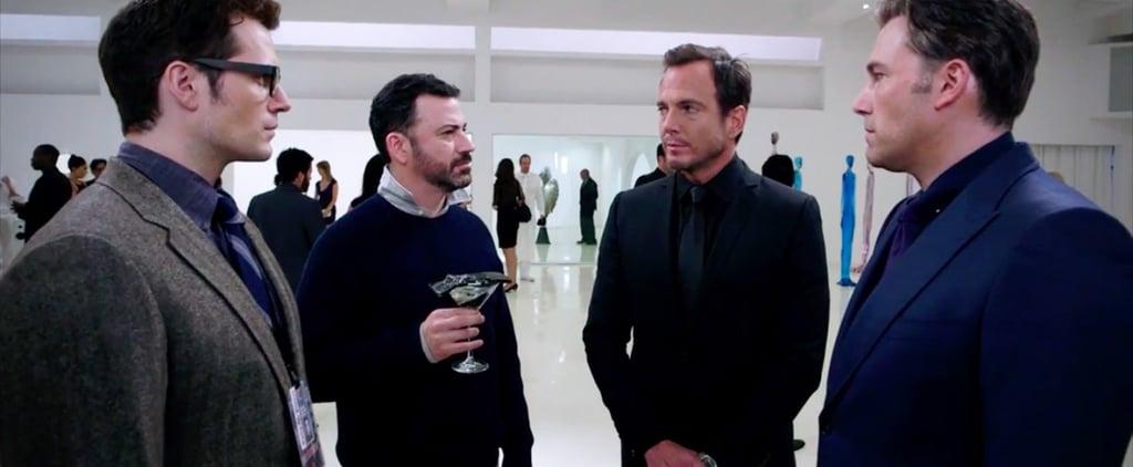 Jimmy Kimmel's Batman v Superman Skit | Video