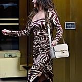 Selena Gomez Wearing a Celine Bag in NYC