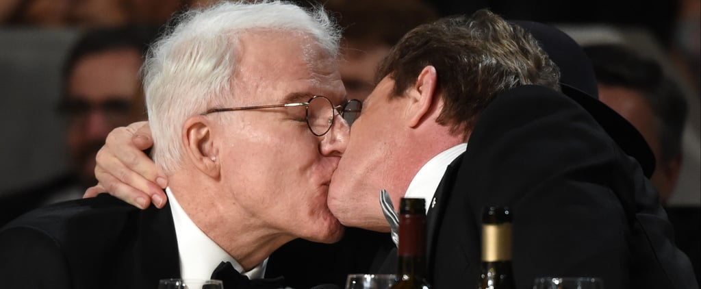 Martin Short and Steve Martin Kissing at AFI Event 2017