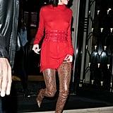 Kendall Jenner's Balmain Boots