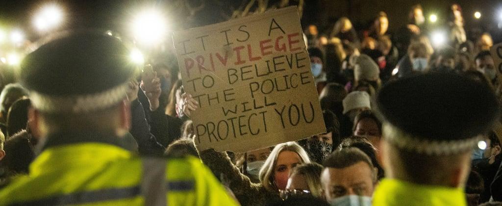 Sarah Everard's Vigil Met With Aggressive Police Action