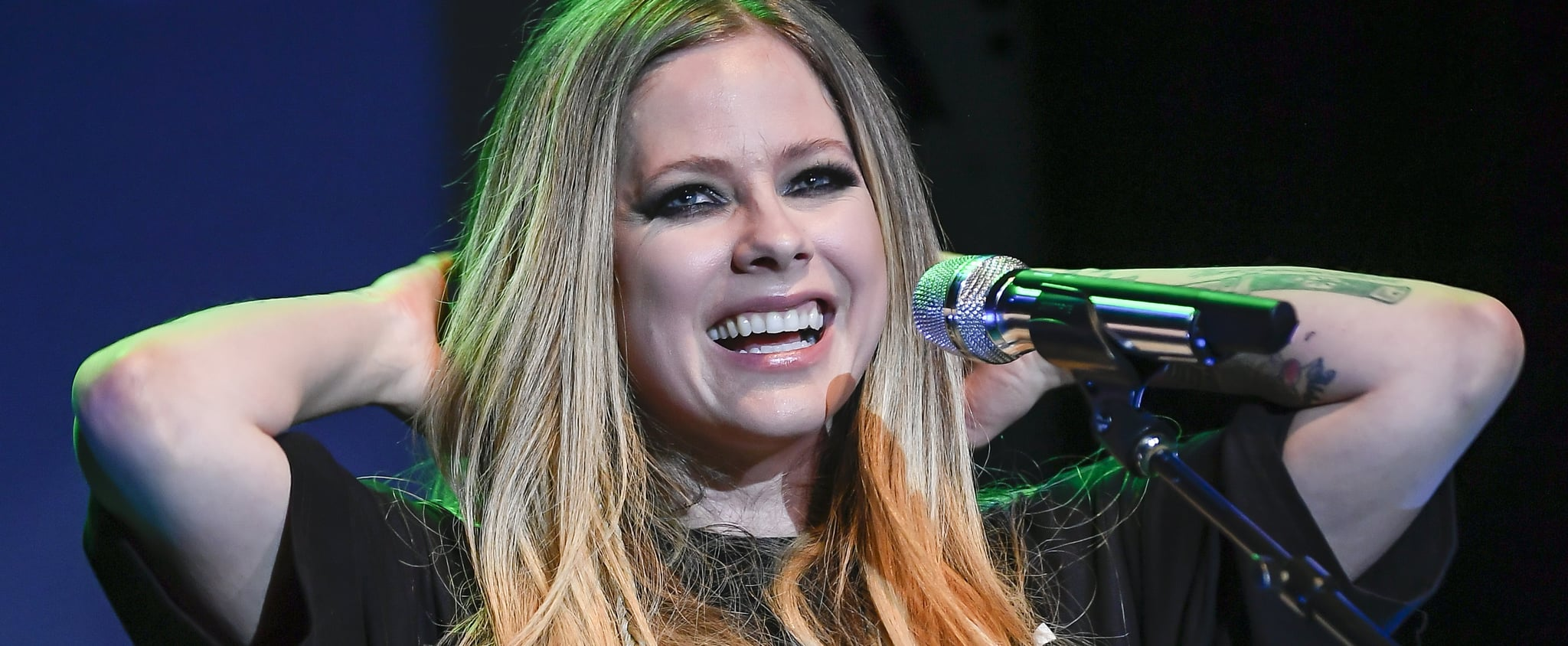 """Avril Lavigne's """"Sk8er Boi"""" TikTok Video With Tony Hawk"""