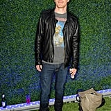 Michael Fassbender at the Emporio Armani Summer Garden Live party.