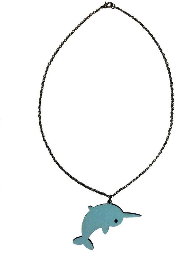 Narwhal Necklace ($24)