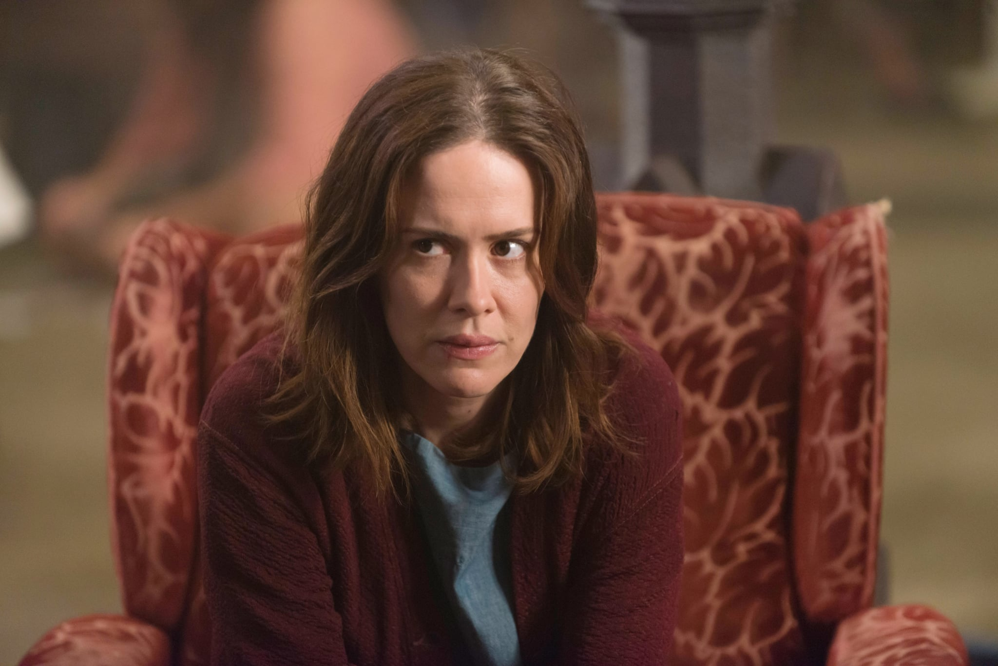 AMERICAN HORROR STORY: ASYLUM, Sarah Paulson in 'The Name Game' (Season 2, Episode 10, aired January 2, 2013), 2011-, ph: Prashant Gupta/FX Networks/courtesy Everett Collection