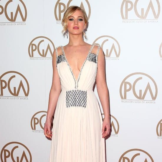 Red Carpet Dresses at 2015 Producers Guild Awards